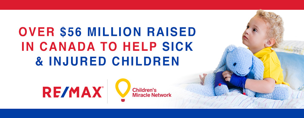 REMAX Supports the Children's Miracle Network