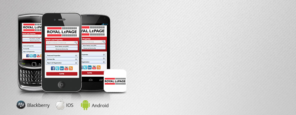 Try Our Mobile Real Estate Website