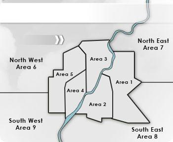 Saskatoon Map